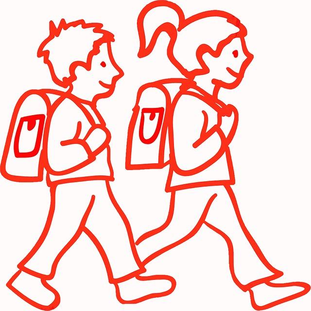 manfaat jalan kaki ke sekolah bagi anak