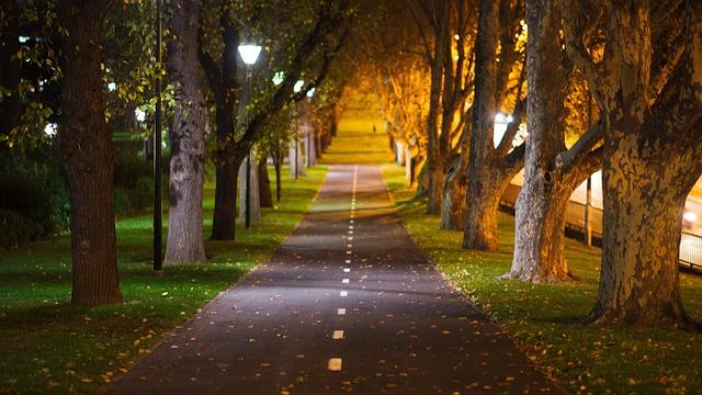 manfaat jalan kaki malam hari