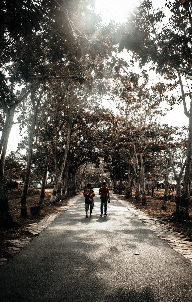 menerapkan jalan kaki sebagai gaya hidup sehat